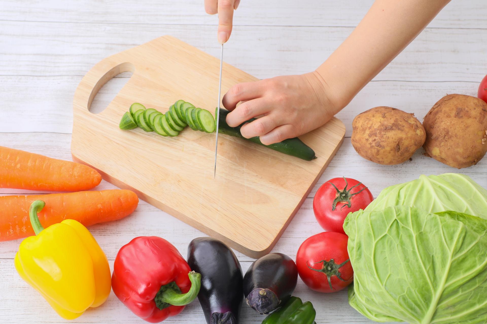 野菜 切る