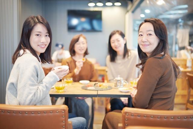 女性の集まり