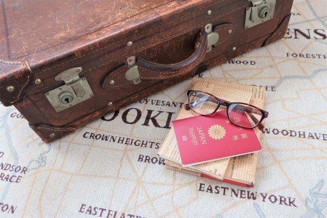 トランクとパスポート