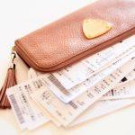 お財布とレシート